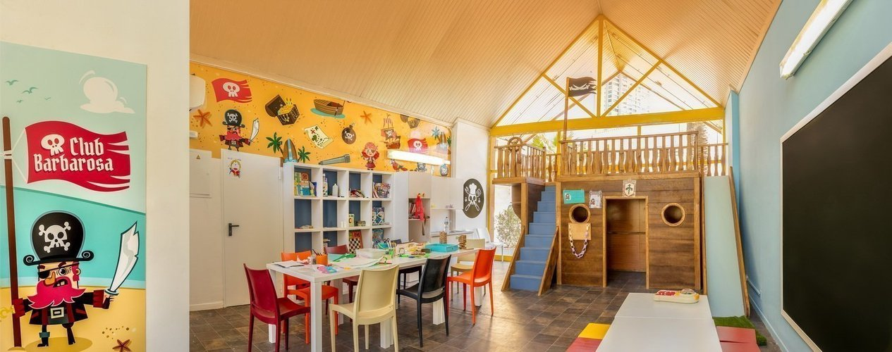 'barbarosa' kids club apparthôtel magic tropical splash benidorm