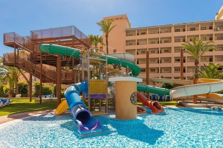 'pirate's land' splash park apparthôtel magic tropical splash benidorm
