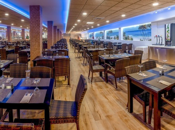 Restaurant 'caribe' apparthôtel magic tropical splash benidorm