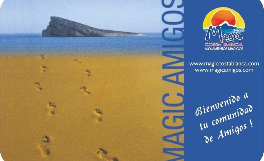"Carte ""Amigos"" Magic Aqua™ Tropical Splash Benidorm"