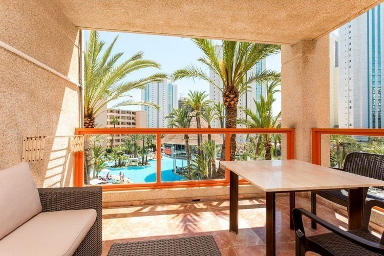 Appartement apparthôtel magic tropical splash benidorm