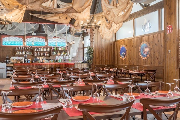 Restaurant 'tropical' apparthôtel magic tropical splash benidorm