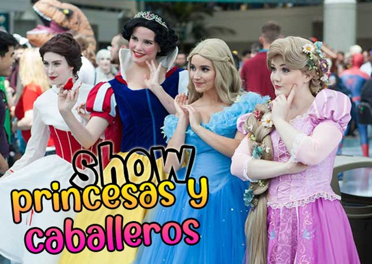 Show princesses et chevaliers apparthôtel magic tropical splash benidorm